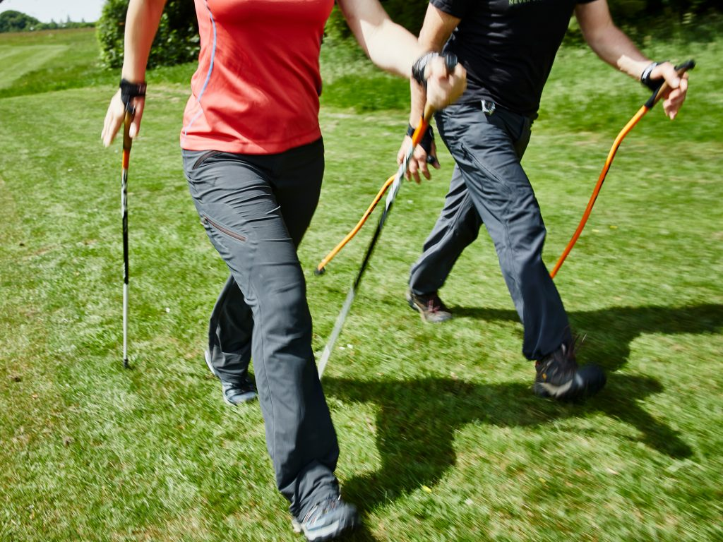 Nordic Walking Beginners Technique Bath